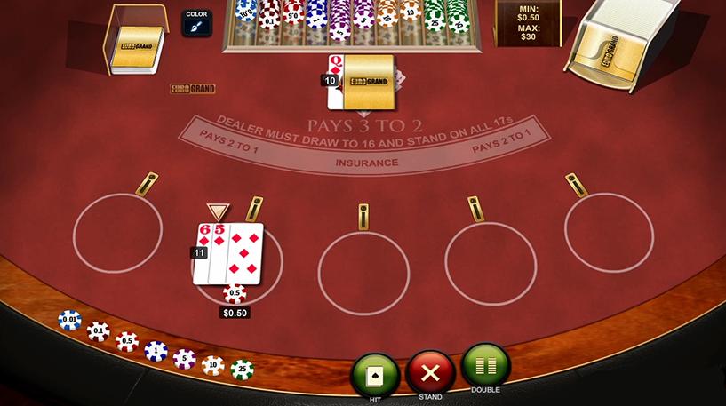 Multihand Blackjack Screenshot 3