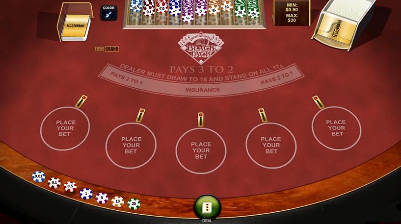 Multihand Blackjack Screenshot 1