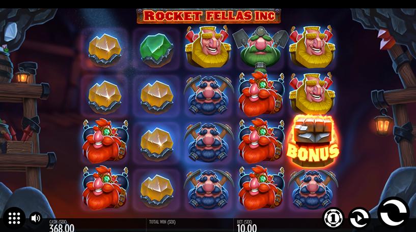 Rocket Fellas Inc Slot Screenshot 3