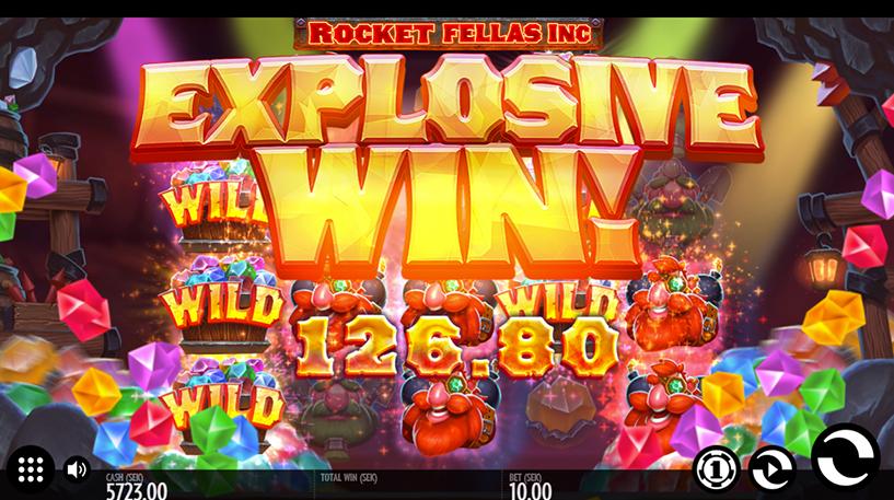 Rocket Fellas Inc Slot Screenshot 1