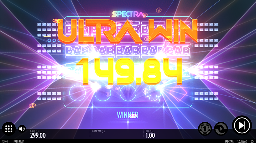 Spectra Slot Screenshot 2