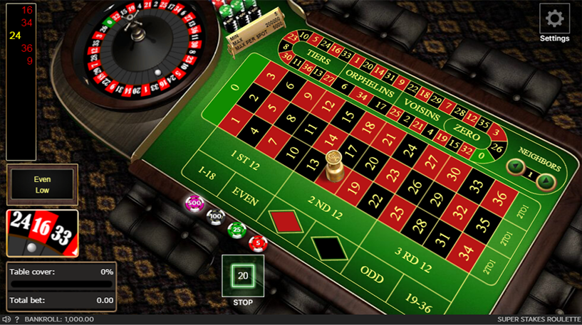 Super Stakes Roulette Screenshot 3
