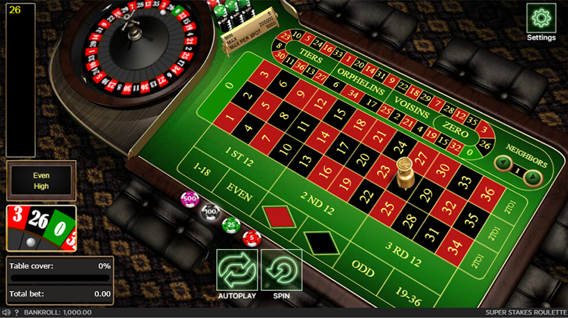 Super Stakes Roulette Screenshot 2