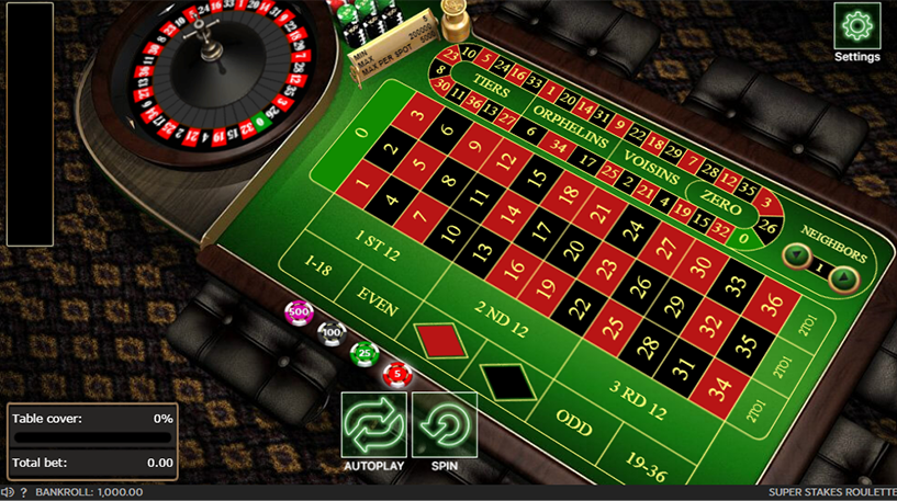 Super Stakes Roulette Screenshot 1