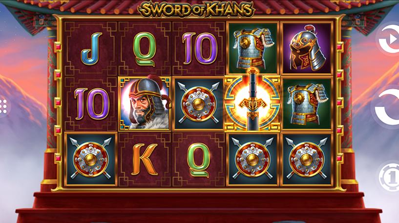 Sword of Khans Slots Screenshot 2