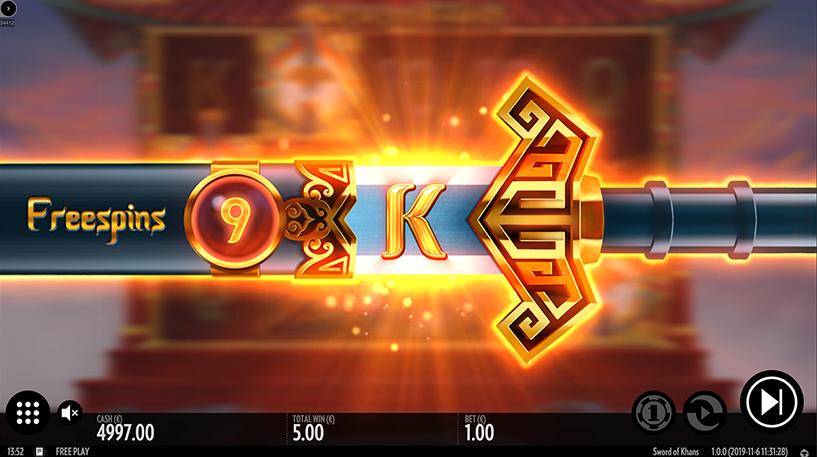Sword of Khans Slots Screenshot 3