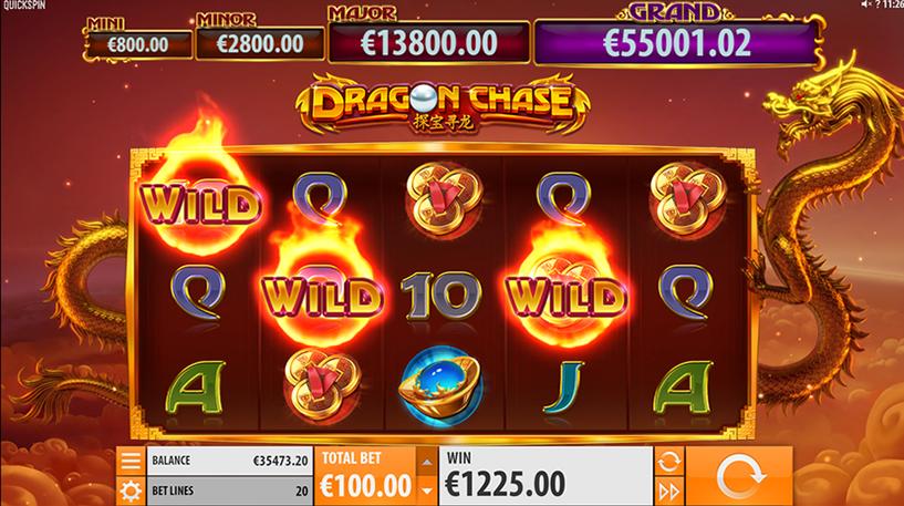 Dragon Chase Slot Screenshot 2