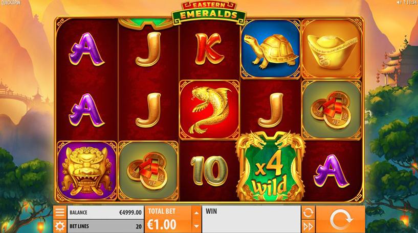 Eastern Emeralds Slot Screenshot 3