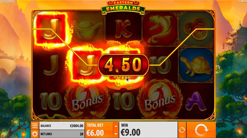 Eastern Emeralds Slot Screenshot 1