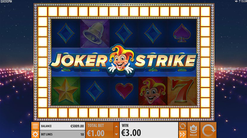Joker Strike Slot Screenshot 2