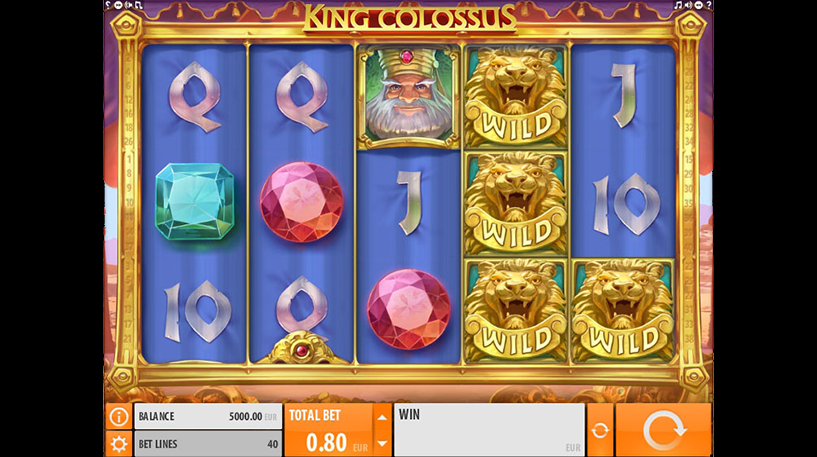 King Colossus Slot Screenshot 3