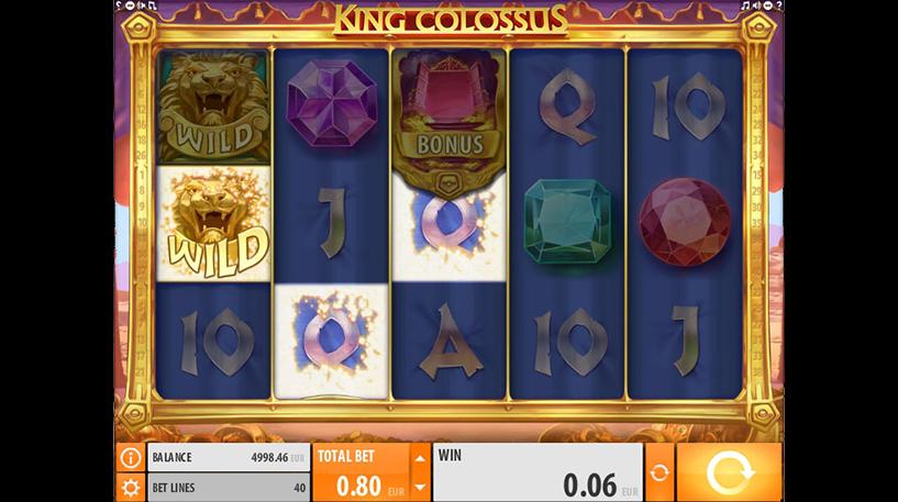 King Colossus Slot Screenshot 2