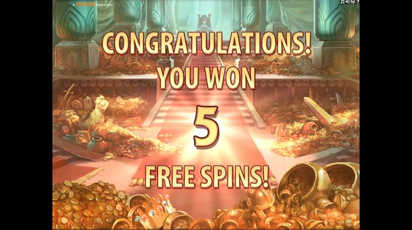 King Colossus Slot Screenshot 1