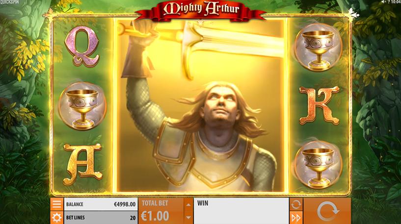 Mighty Arthur Slot Screenshot 3
