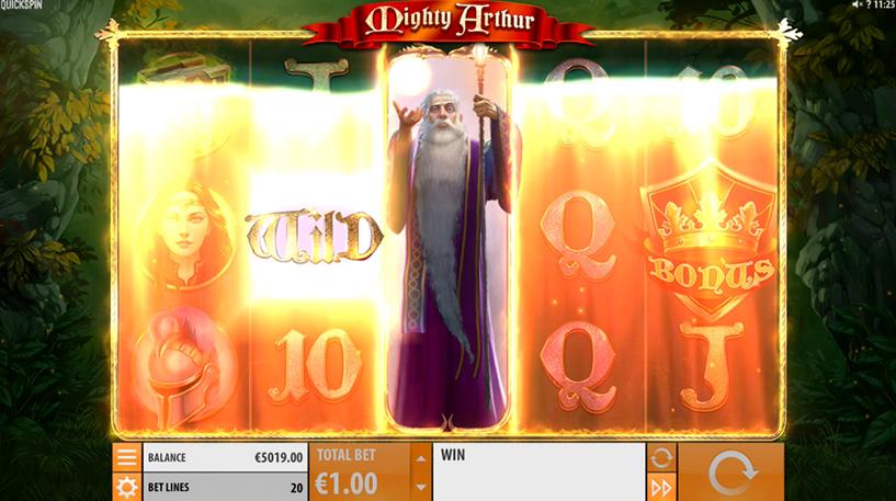 Mighty Arthur Slot Screenshot 1