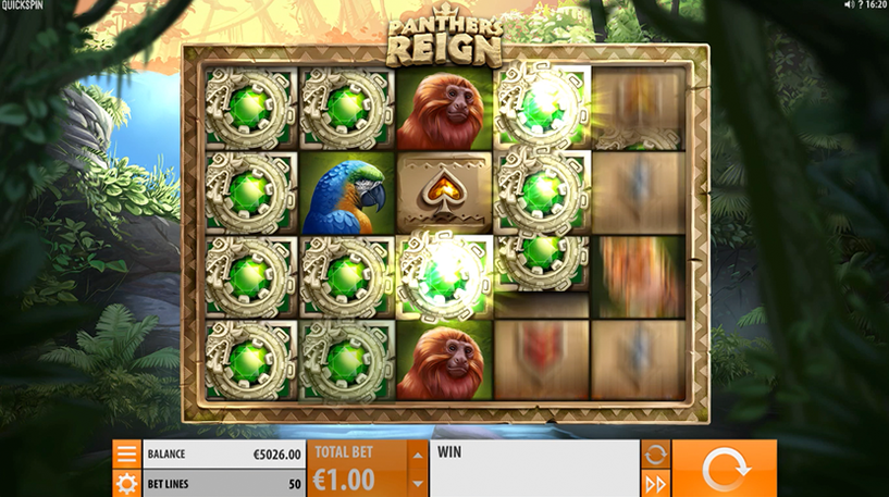 Panther's Reign Slot Screenshot 1