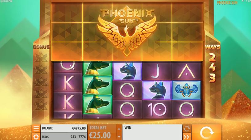 Phoenix Sun Slot Screenshot 3