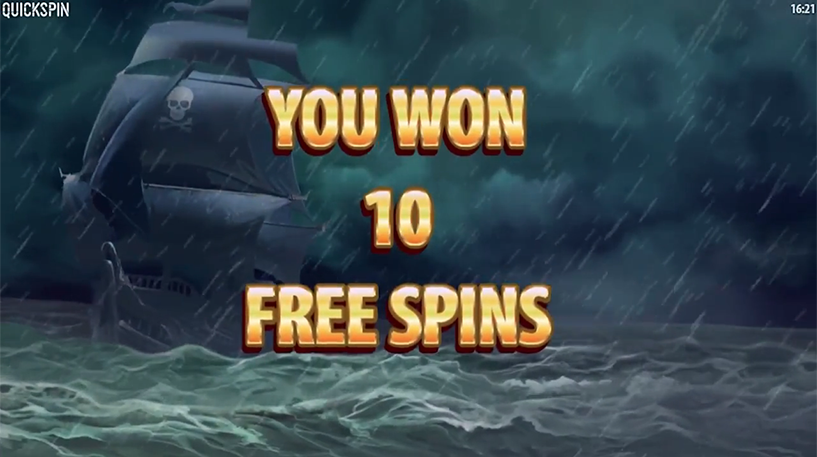 Pirate's Charm Slot Screenshot 1