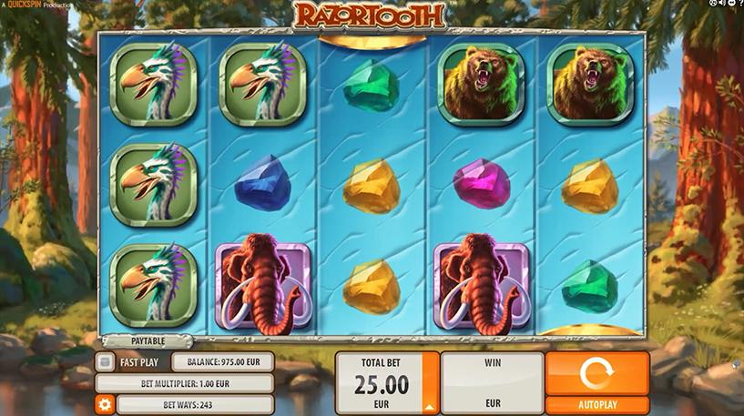 Razortooth Slot Screenshot 3