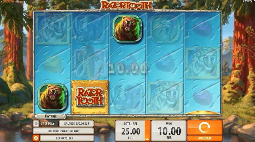 Razortooth Slot Screenshot 2
