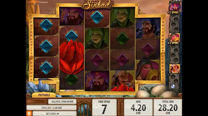 Sinbad Slot Screenshot 3