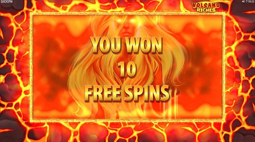 Volcano Riches Slot Screenshot 3