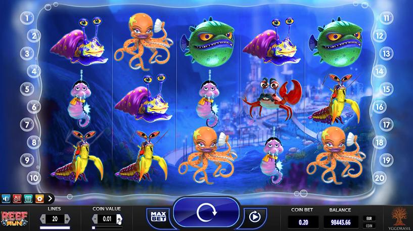 Reef Run Slot Screenshot 3