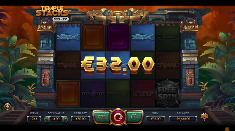 Temple Stacks Slot Screenshot 3
