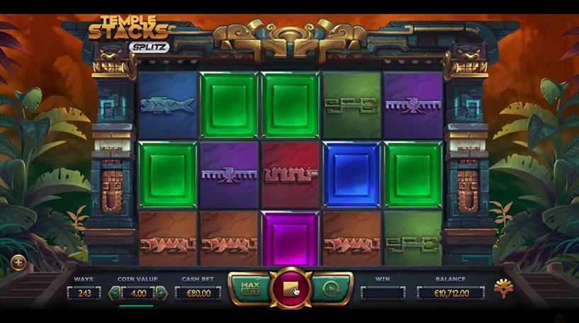 Temple Stacks Slot Screenshot 2