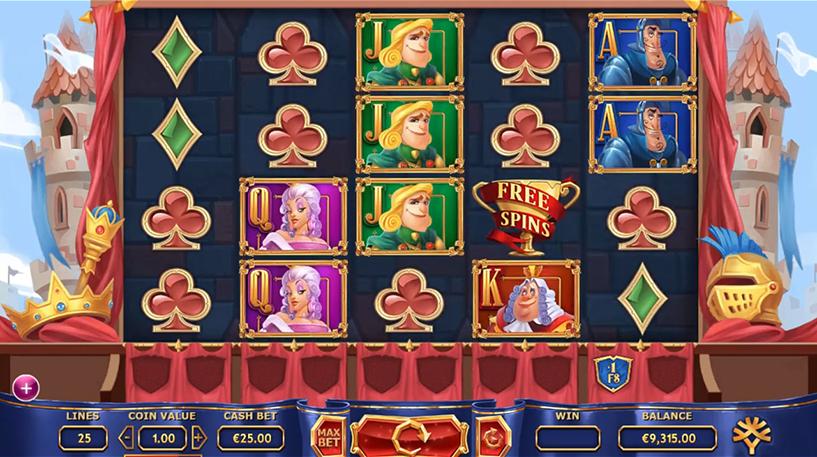 The Royal Family Slot Screenshot 2