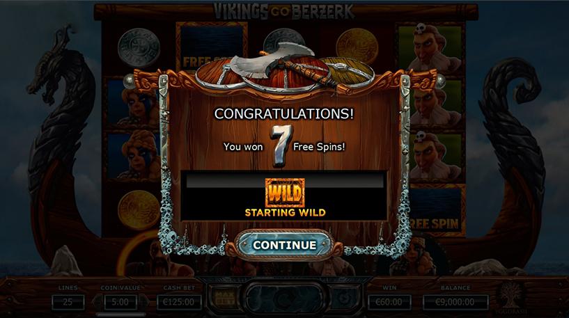Vikings Go Bezerk Screenshot 1