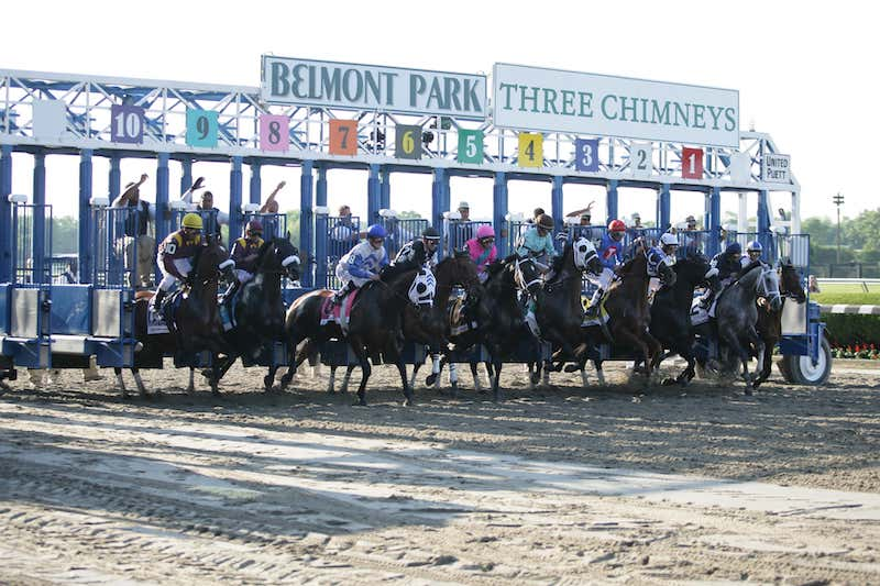 Man o'War Stakes at Belmont Park 2021