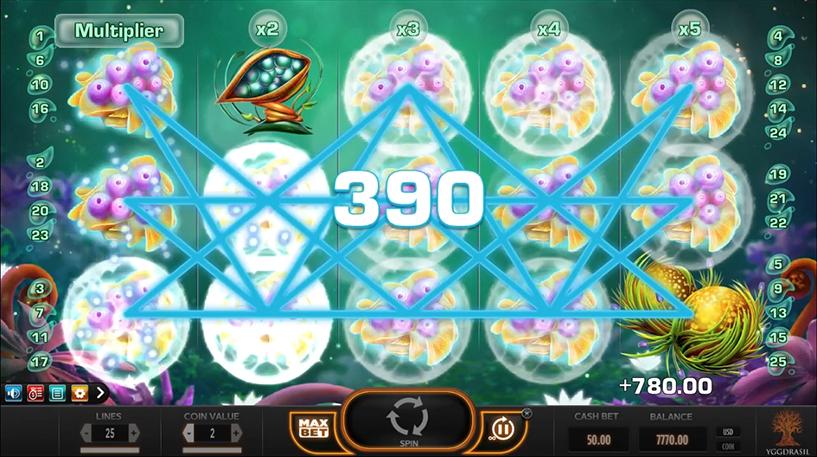 Fruitoids Slot Screenshot 2