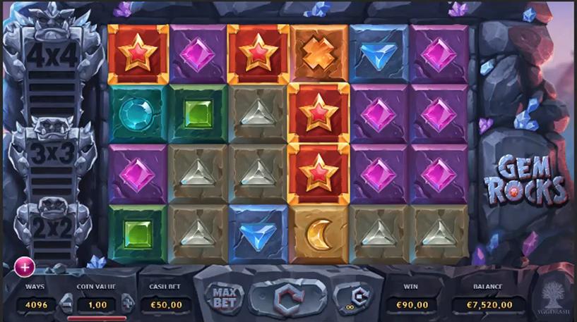 Gem Rocks Slot Machine