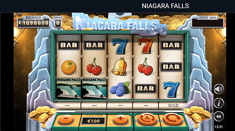 Niagara Falls Slot Screenshot 3