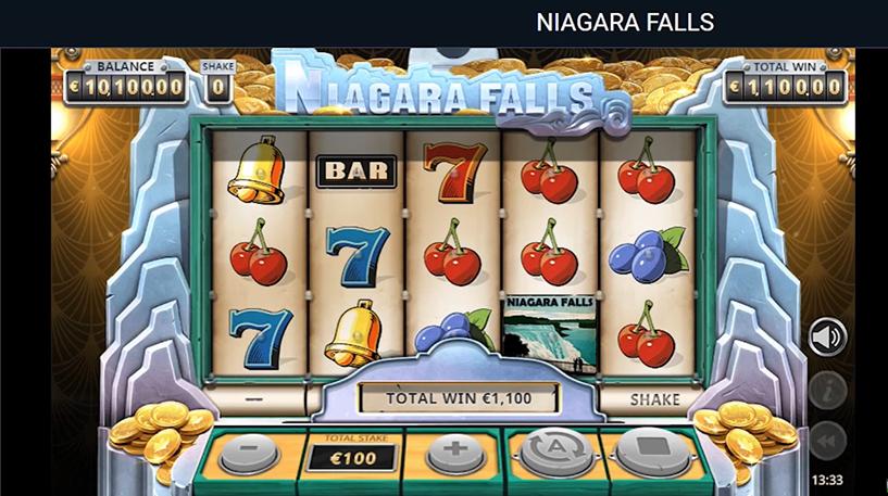 Niagara Falls Slot Screenshot 1