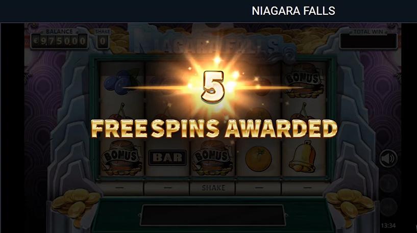 Niagara Falls Slot Screenshot 2