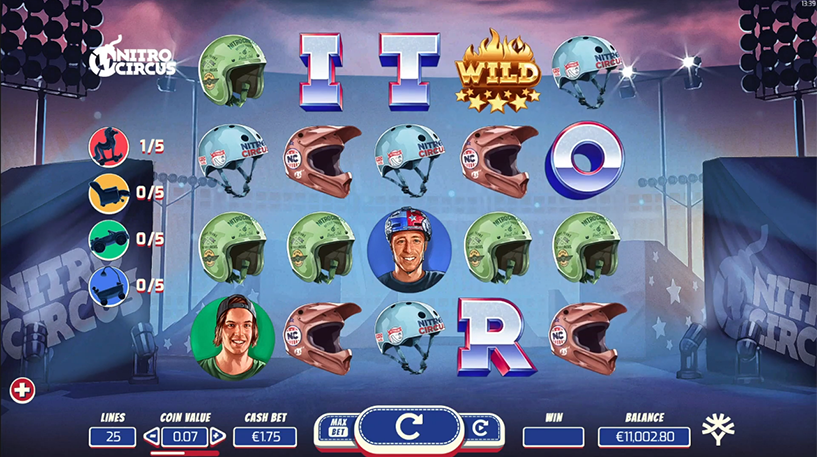 Nitro Circus Slot Screenshot 3