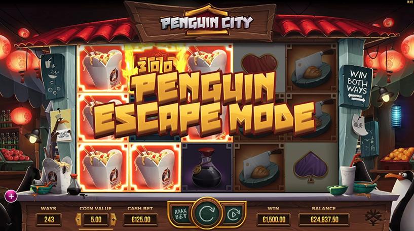 Penguin City Screenshot 1