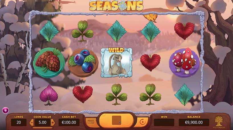 Seasons Slot Screenshot 3