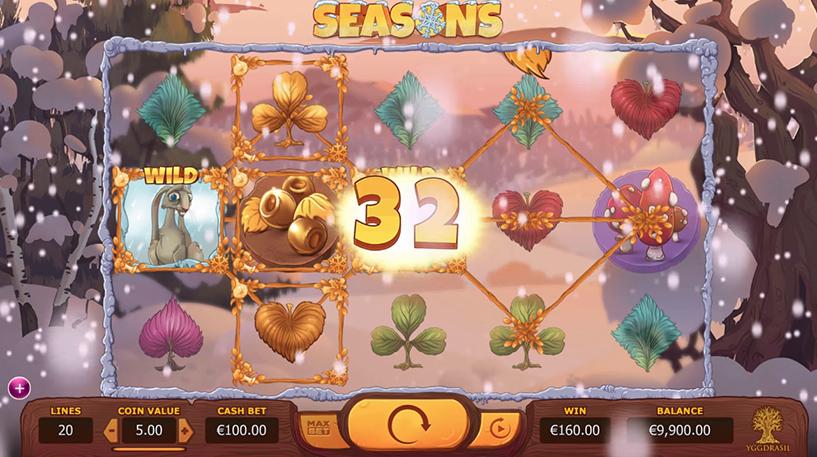 Seasons Slot Screenshot 1