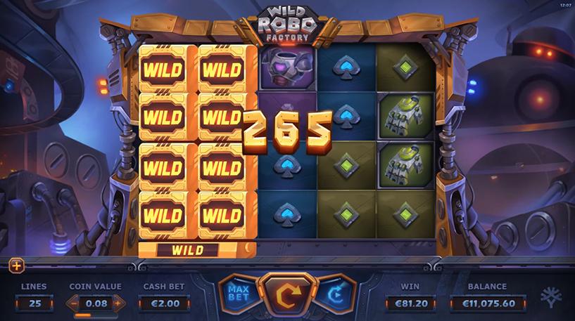 Wild Robo Factory Screenshot 2