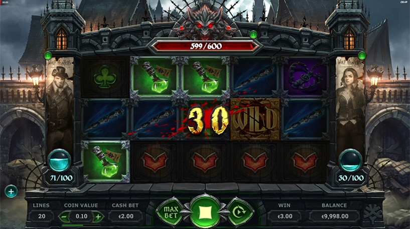 Wolf Hunters Slot Screenshot 3