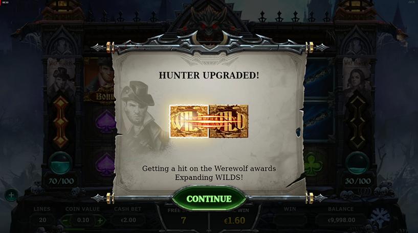 Wolf Hunters Slot Screenshot 1