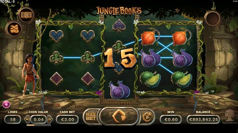 Jungle Books Slot Screenshot 2