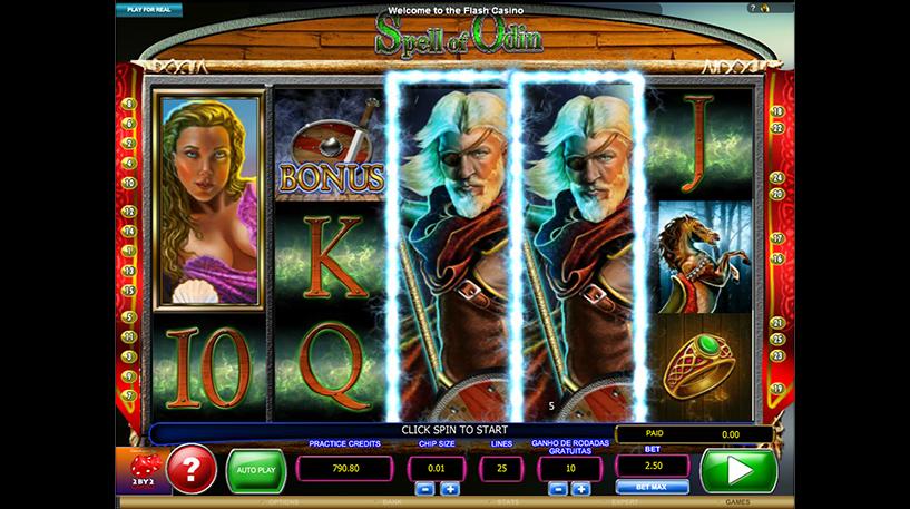 Spell of Odin Slot Screenshot 2