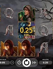 The Wolf's Bane Slot Screenshot 1