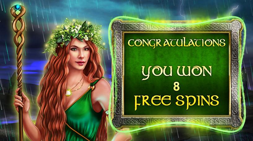 Celtic Goddess Slot Screenshot 1