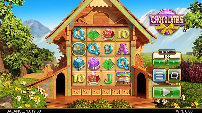Chocolates Slot Screenshot 1