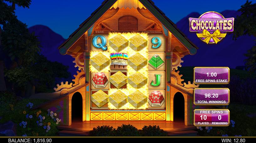 Chocolates Slot Screenshot 2